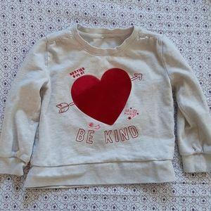 Gap kids xs heart Sweatshirt ❤